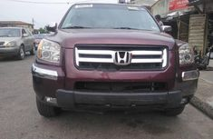 Foreign Used Honda Pilot 2007 Model Red