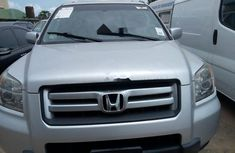 Foreign Used Honda Pilot 2006 Model Silver