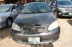 Naija Used 2006 Grey Toyota Corolla for sale in Lagos.