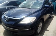 Foreign Used 2008 Blue Mazda CX-9 for sale in Lagos.