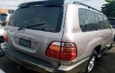 Foreign Used Toyota Land Cruiser 2003 Model Silver