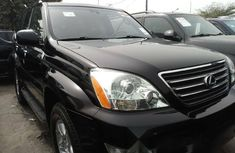Foreign Used Lexus GX 2005 Model Black