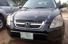 Nigeria Used Honda CR-V 2004 Model Black