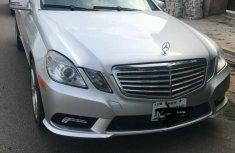 Nigeria Used Mercedes-Benz E300 2010 Model Silver