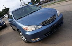 Foreign Used Toyota Camry 2004 Model Blue