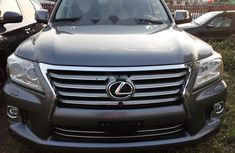 Foreign Used Lexus LX 2014 Model Gray
