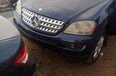 Nigeria Used Mercedes-Benz ML350 2009 Model Blue
