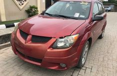 Foreign Used Pontiac Vibe 2003 Model Red