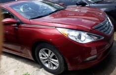 Foreign Used Hyundai Sonata 2013 Model Red