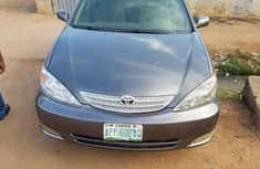 Nigeria Used Toyota Camry 2004 Model Gray