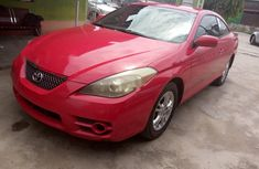 Foreign Used Toyota Solara 2007 Model Red