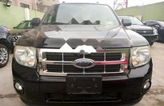 Foreign Used Ford Escape 2009 Model Black