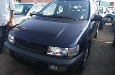 Foreign Used Mitsubishi Spacewagon 1999 Model Blue