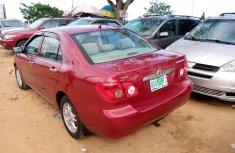 Sharp and neat Nigerian Used Toyota Corolla, 2006 model
