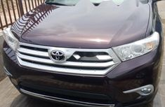 Tokunbo Toyota Highlander 2012 Model Purple