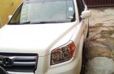Nigeria Used Honda Pilot 2008 Model White