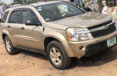 Nigeria Used Chevrolet Equinox 2006 Model Gold