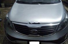Nigeria Used Kia Sportage 2012 Model Silver
