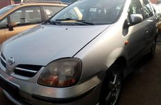 Foreign Used 2005 Silver Nissan Almera Tino for sale in Lagos.