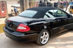 Foreign Used Mercedes-Benz CLK 2006 Model Black