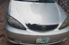 Nigeria Used Toyota Camry 2005 Model Silver