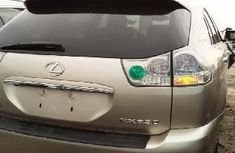 Foreign Used Lexus RX 2006 Model Gold
