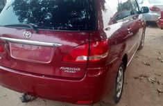 Foreign Used 2001 Red Toyota Avensis for sale in Lagos