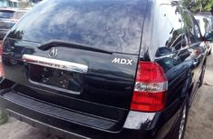 Neatly Used Foreign Used Black Acura MDX  2002 Model for sale