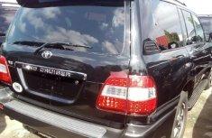 Foreign Used Toyota Land Cruiser 2007 Model Black