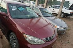 Foreign Used 2005 Red Toyota Camry for sale in Lagos.