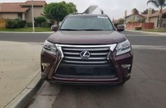 Foreign Used Lexus LX 2014 Model Red