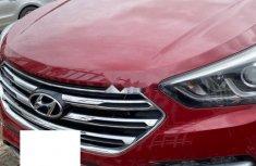 Nigeria Used Hyundai Santa Fe 2017 Model Red