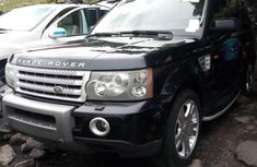 Foreign Used 2008 Dark Blue Land Rover Range Rover Sport for sale in Lagos.