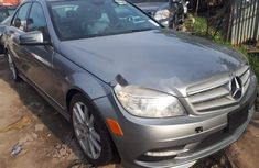 Foreign Used 2010 Grey Mercedes-Benz C300 for sale in Lagos.