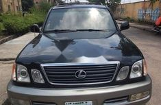 Nigeria Used Lexus LX 2003 Model Black