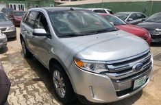 Nigeria Used Ford Edge 2012 Model Silver