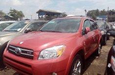 Foreign Used Toyota RAV4 2008 Model Red
