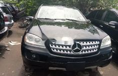 Foreign Used Mercedes-Benz ML350 2006 Model Black