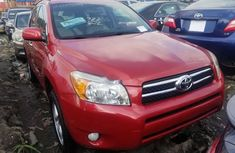 Foreign Used Toyota RAV4 2008 Model Red
