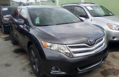 Foreign Used 2010 Grey Toyota Venza for sale in Lagos.