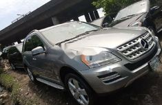 Foreign Used Mercedes-Benz ML350 2011 Model Silver