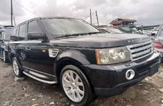 Tokunbo Land Rover Range Rover Sport 2007 Model Black