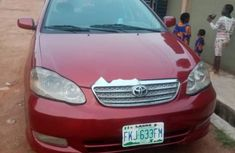 Locally Used 2004 Toyota Corolla for sale in Lagos.