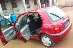 Foreign Used Nissan Micra 2000 Model Red