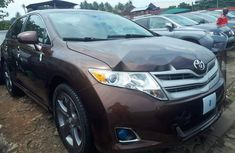Foreign Used Toyota Venza 2010 Model Brown