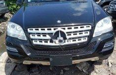 Tokunbo Mercedes-Benz ML350 2010 Model Black