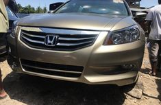 Foreign Used Honda Accord 2010 Model Gold