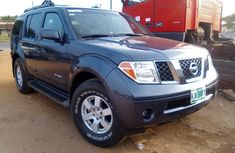 Nigeria UsedNissan Pathfinder 2005 Model Gray