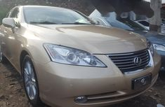Foreign Used 2008 Gold Lexus ES for sale in Lagos.