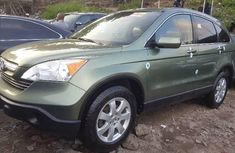 Foreign Used 2008 Green Honda CR-V for sale in Lagos.